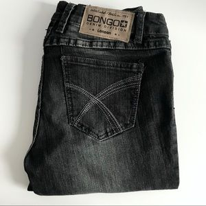 Bongo Low Rise Skinny Fit Stretchy Grey Jeans